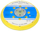 FP 150mm Replacement Disc Sander Backing Pad Medium (Yellow/Blue)