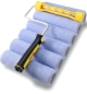 9 inch Purdy Revolution 6pc Micropol Paint Roller Set (6 x CDDTT915, 1 x 14A751349)