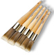 Corona Grand Red-Gold Synthetic Round Oval Sash Paint Brush