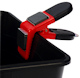 Magnetic Paint Brush Holder (Red/Black)