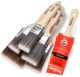Prodec Premier Synthetic 6 pc Paint Brush Set (1x3 2x2 2x1.5in)