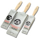 Prodec X7 3 pc Synthetic Paint Brush Set (1x1.5 1x2 1x3 in)