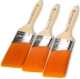 Proform Picasso 3pc Oval Angled Beavertail Paint Brush Set (PIC3-2.5, PIC3-3, PIC13-2.5)