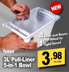 Fossa 3 Litre Paint Kettle / Pull-Liner 5 in 1 Set