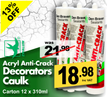 Zwaluw Anti Crack Decorators Caulk / Filler