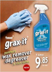 Fossa Grax-it Wax Polish Remover and Degreaser