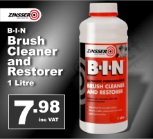 Zinsser Bin - Brush Restorer and Cleaner