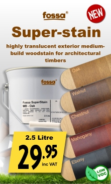 Fossa Superstain WB Exterior Woodstain