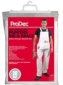 Prodec Bib and Braces - White Cotton Drill.