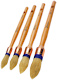 Windsor Round Sash Paint Brush Set - 1 x 15mm 18mm 21mm 25mm