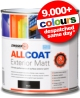 Zinsser Allcoat Exterior Matt - ALL Surface Paint