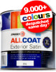 Zinsser Allcoat Exterior Satin - ALL Surface Paint