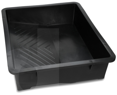 17 inch Black Plastic Paint Tray
