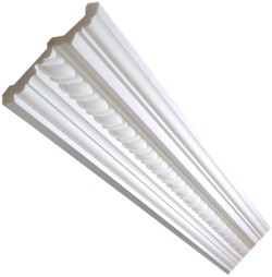 Rope Premium Coving / Cornice - 140mm wide.