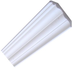 Plain Premium Coving / Cornice - 90mm wide.
