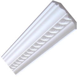 Rope Premium Coving / Cornice - 90mm wide.
