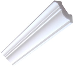 Plain Premium Coving / Cornice - 78mm wide.