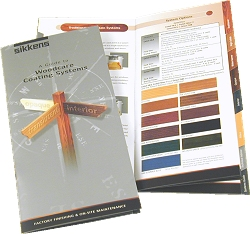 Sikkens Woodstain Colour Card