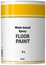 Water-based Epoxy Floor Paint - 2 Pack