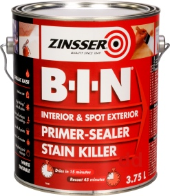 Zinsser BIN - Primer Sealer and Stain Killer