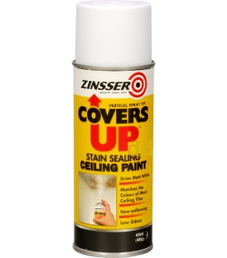 Zinsser Covers UP - Stain Block ing Ceiling Paint 400ml