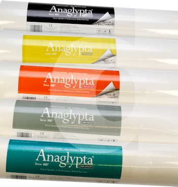 Anaglypta Lining Paper - 20m Double Rolls