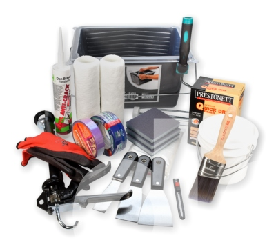 Painting Walls Kit - 20pc Beginners Painting and Prep Tools