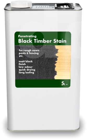 Black Timber Stain