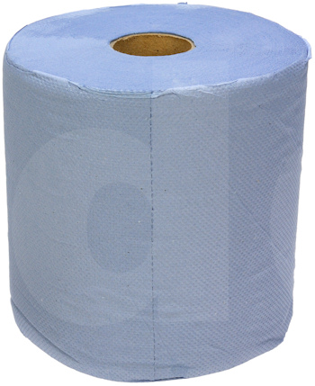 Blue Tissue Roll - 2 ply