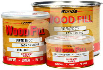 Bonda WoodFill SuperSoft 2 Part Wood Filler