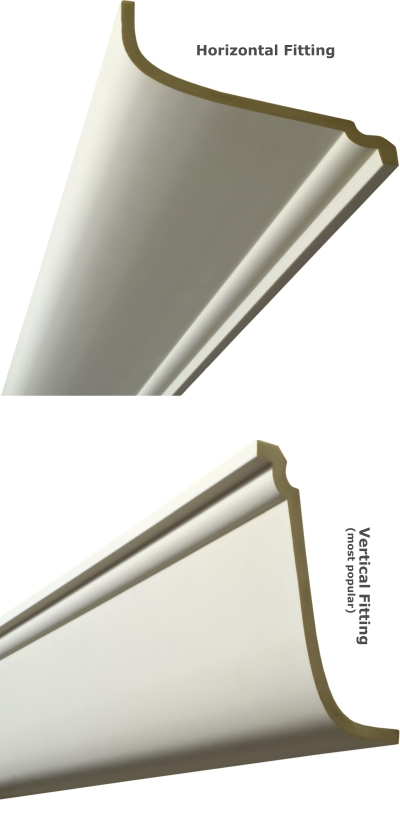 Plain Premium Coving 245mm wide