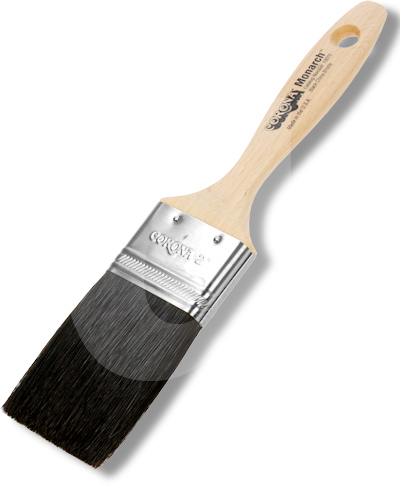 Corona Monarch Black China Bristle Paint Brush
