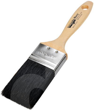 Corona Morro Black China Bristle Paint Brush
