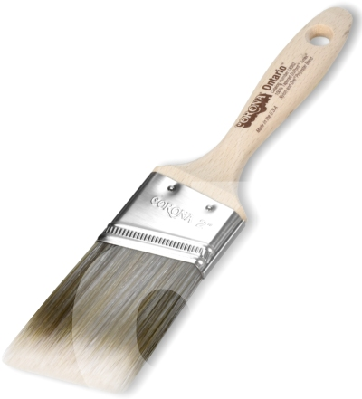 Corona Ontario Red-Gold Angled Paint Brush