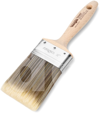 Corona Toledo Red-Gold Nylon/Polyester Paint Brush