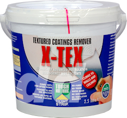 X Tex Artex and Textured Coatings Remover