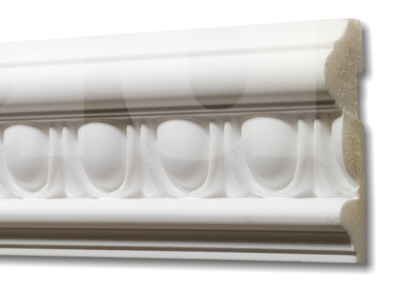 Egg and Dart Standard Dado Architrave - 57mm wide.