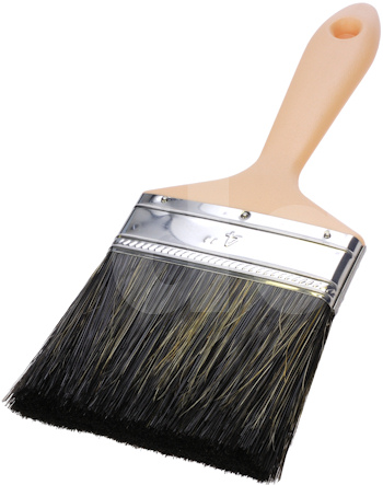 Flat Wall Paint Brush Mixed Bristle