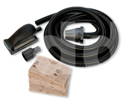 Fossa Dust Extraction Hand Sanding Starter Kit 70x125mm (inc Hose / 30 evoMESH Sheets).