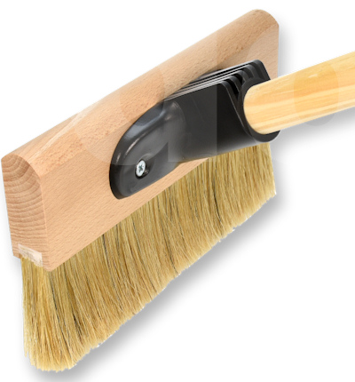 Fossa Floor and Decking Paint Brush - Push-fit