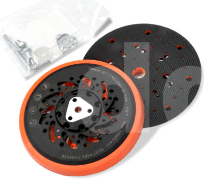 FP Cyclone 150mm / 6in 53 Hole Soft Grip Backing Pad
