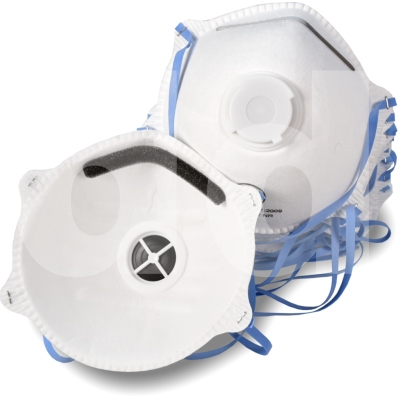 Disposable P2 Valved Respirator FFP2