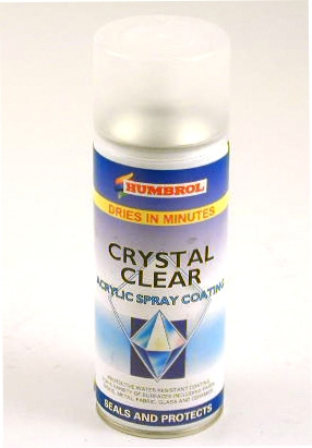 Humbrol Crystal Clear Acrylic Spray Coating Aerosol