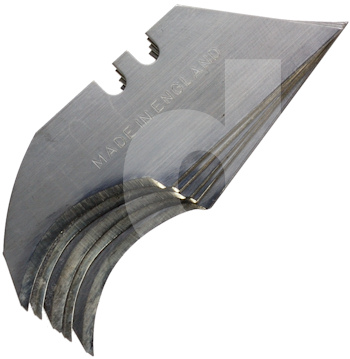 Vinyl flooring blade heavy duty concave for Heavy duty vinyl flooring