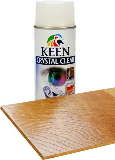 Keen Transparent Acrylic Matt Aerosol Spray