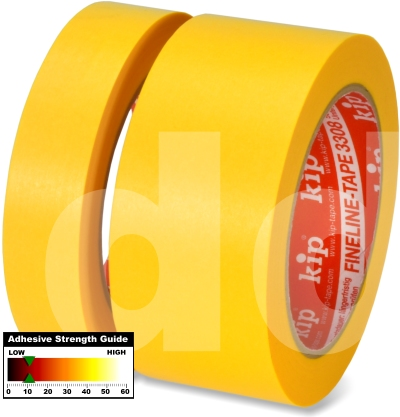 Kip 3308 Fineline Masking Tape Washi-TEC Yellow