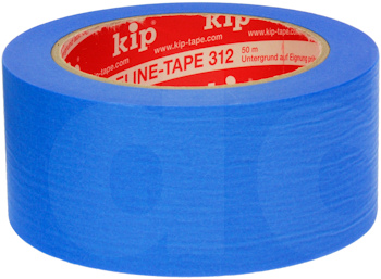 Kip Fineline Blue UV Resistant Washi Masking Tape