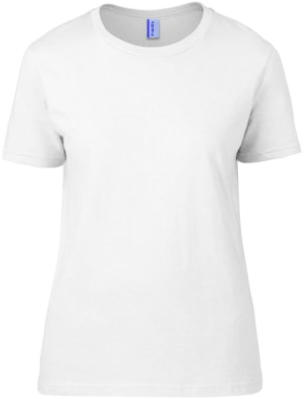 Ladies Cotton T-Shirt White