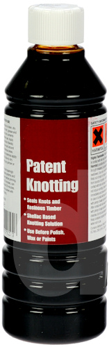 Patent Shellac Knotting Solution