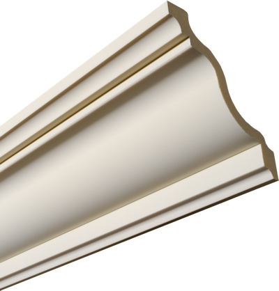 Plain Premium Swan Neck Coving 167mm wide